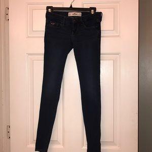 Hollister skinny jeans size 24W29L